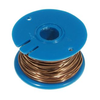 WIRE COPPER BARE 22 SWG 0.71mm 50g REEL