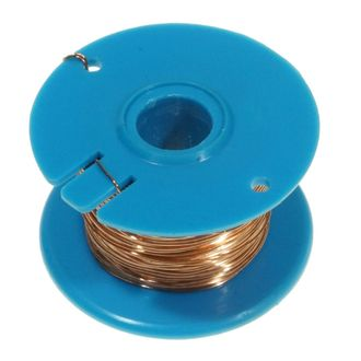 WIRE COPPER BARE 28 SWG 0.38mm 50g REEL