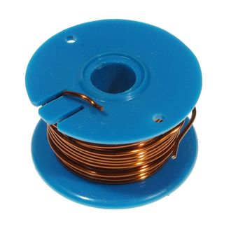 WIRE COPPER ENAMEL 20 SWG 0.91mm 50g REEL