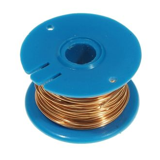 WIRE COPPER ENAMEL 22 SWG 0.71mm 50g REEL