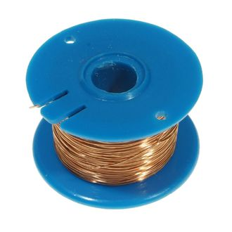 WIRE COPPER ENAMEL 28 SWG 0.38mm 50g REEL