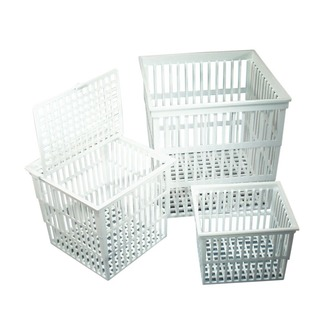BASKET TEST TUBE POLYPROPYLENE 160x160x160mm WITH LID
