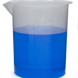 BEAKER POLYPROPYLENE GRADUATED 2000ml