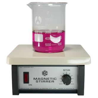 MAGNETIC STIRRER VARIABLE SPEED EPOXY COATED TOP PLATE