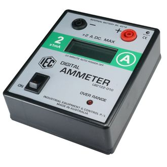 METER DIGITAL AMMETER LCD +/- 0-2A.DC. AUTO POWER OFF