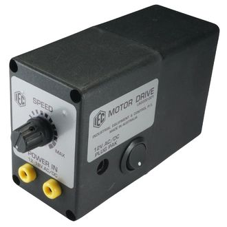 MOTOR DRIVE UNIT 12V.AC/DC. WITH PULLEY BANANA/P-PAK