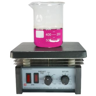 MAGNETIC STIRRER / HOT PLATE THERMOSTAT W/PTFE