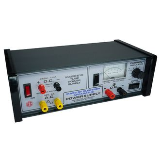 POWER SUPPLY VAR MASS Of ELECT 12V & 300V CONSTANT CURRENT METER